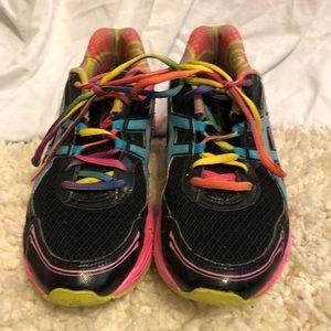Rainbow running shoes ASICS AHAR